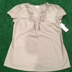 Liz Lange for Target maternity shirt